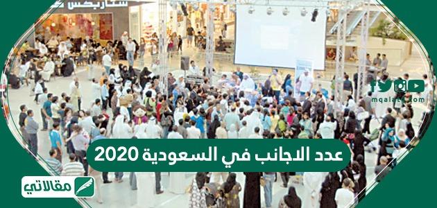 عدد الاجانب في السعودية 2021