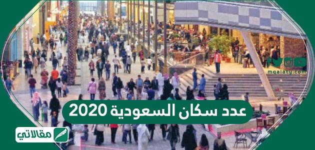 عدد سكان السعودية 2020