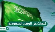 كلمات عن الوطن السعوديه .. عبارات تهنئة بالعيد الوطني السعودي