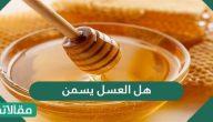 هل العسل يسمن .. خلطة العسل لزيادة الوزن