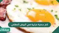 كم سعرة حرارية في البيض المقلي .. فوائد تناول البيض المقلي للجسم