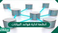 انظمة ادارة قواعد البيانات … مكونات انظمة ادارة قواعد البيانات وأنواعها بالتفصيل