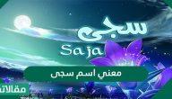 معنى اسم سجى Saja وصفات حاملة الاسم