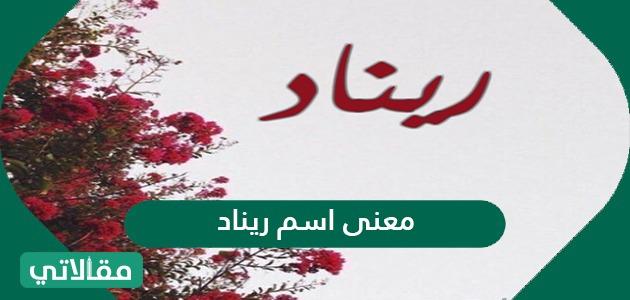 معنى اسم ريناد وصفات حاملة الاسم وما هو حكم التسمية به مقالاتي