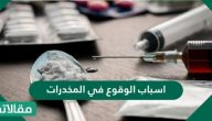 اسباب الوقوع في المخدرات وما هي اثار الإدمان واهم النصائح العملية لتجنبه