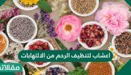اعشاب لتنظيف الرحم من الالتهابات