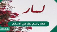 معنى اسم لمار في الاسلام وصفات حاملة الاسم