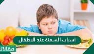 اسباب السمنة عند الاطفال وما هي أعراضها وطرق علاجها