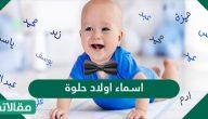اسماء اولاد حلوة جديدة ونادره اسلامية وعربية 2021 ومعانيها
