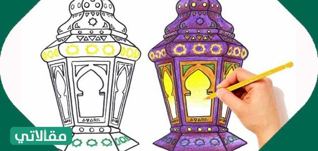 رسومات جميلة عن رمضان
