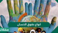 أنواع حقوق الإنسان واهم المعلومات عن القانون الدولي لحقوق الإنسان