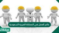 عالم العمل في المملكة العربية السعودية