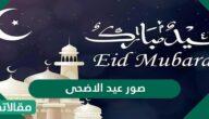 صور عيد الأضحى المبارك 2021 / 1442 جاهزة للاستخدام والمعايدة