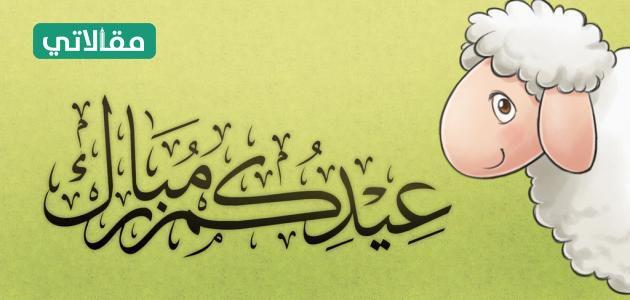 نهنئكم بحلول عيد الأضحى المبارك وكل عام وانتم بخير