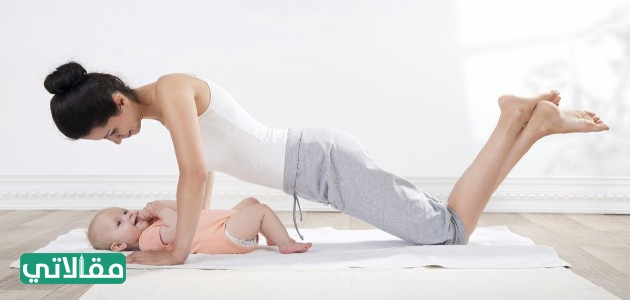 طريقة شد البطن بعد الولادة القيصرية