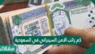 كم راتب الامن السيبراني في السعودية