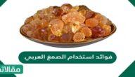 فوائد استخدام الصمغ العربي