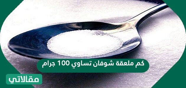 كم ملعقة شوفان تساوي 100 جرام